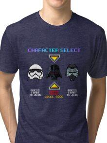 Super 8-bit Wars Tri-blend T-Shirt