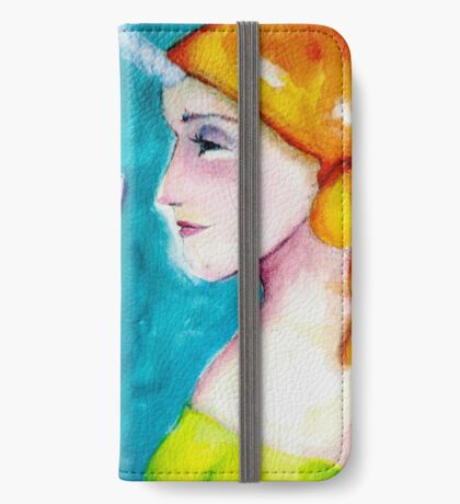 Unicorn girl iPhone Wallet/Case/Skin