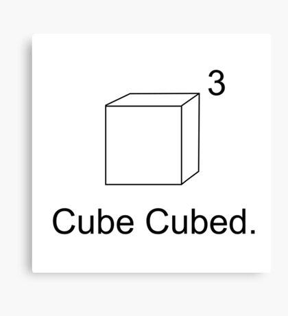 Cube Cubed Canvas Print