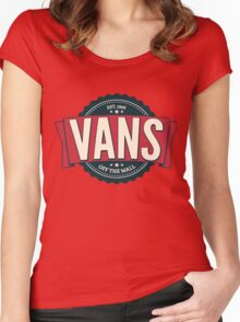 Vans off the Wall Women's Fitted Scoop T-Shirt