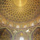 Dome of the Lotfollah Mosque, Esfahan, Iran by Jane McDougall