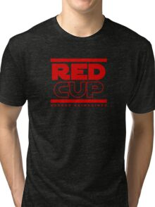 STAR WARS - RED CUP Tri-blend T-Shirt