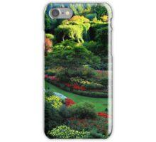 Butchart Gardens 1 iPhone Case/Skin