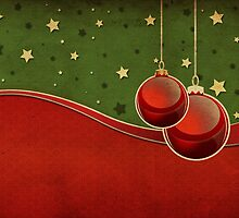 Vintage Christmas background by AnnArtshock