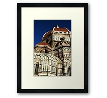 Duomo detail Framed Print