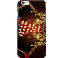 Xmas tree on stage iPhone Case/Skin