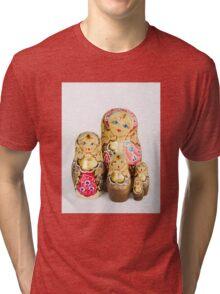 Babushka nesting dolls Tri-blend T-Shirt