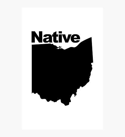 Ohio Native Photographic Print