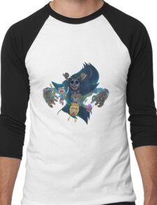 Steampunk Adventure Time Men's Baseball ¾ T-Shirt