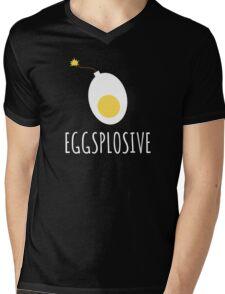 Eggsplosive Mens V-Neck T-Shirt