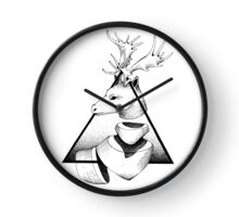 Metaphisical Deer Clock