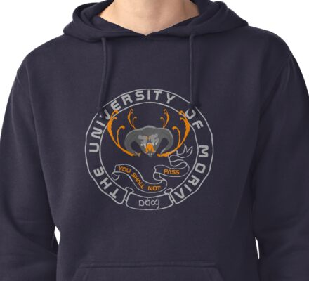 University of The Mines of Moria Pullover Hoodie