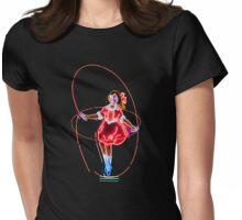 Neon Sign, Skipping Girl Vinegar, Melbourne, Australia  Womens Fitted T-Shirt