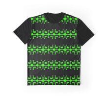 Geometrical green Graphic T-Shirt