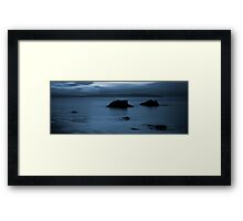Donegal Blues Framed Print