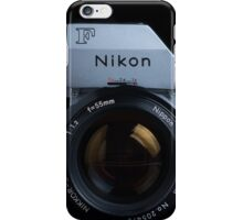 Nikon F with FTn Photomic prism iPhone Case/Skin