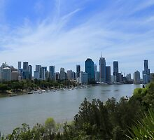 Beautiful Brisbane by Keith G. Hawley