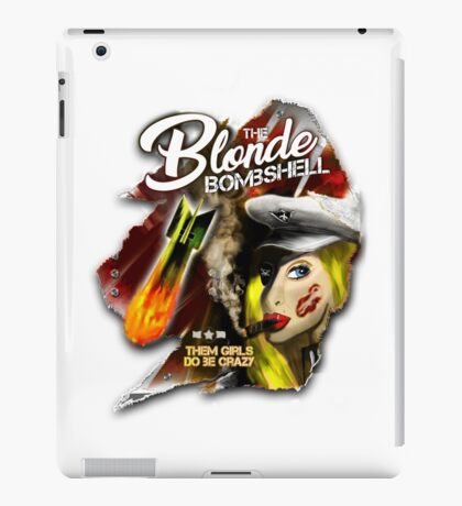 The Blonde Bombshell iPad Case/Skin