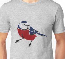 Graffiti Robin Unisex T-Shirt