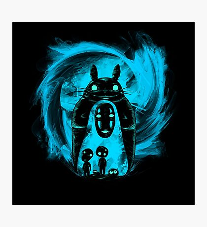 Dark Friend - Ghibli Totoro by Mien Wayne Photographic Print