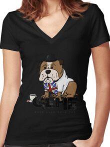 good luck Women's Fitted V-Neck T-Shirt
