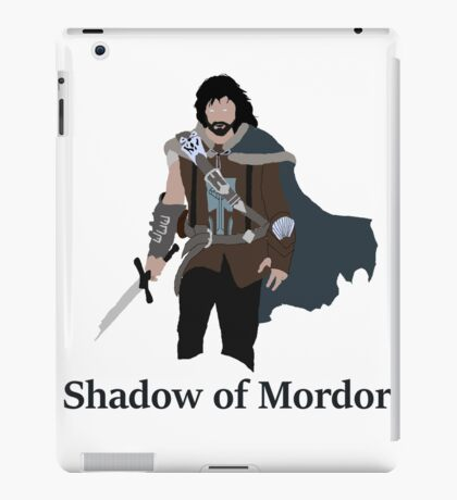 Talion, the shadow of Mordor iPad Case/Skin