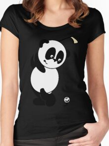 panda golf Women's Fitted Scoop T-Shirt