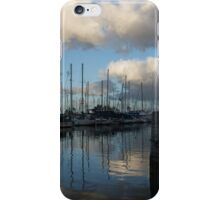 Spectacular Storm Light - Tropical Skies Over Ala Wai Harbor in Honolulu, Hawaii iPhone Case/Skin