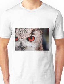 Owl Close Up Unisex T-Shirt