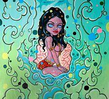 'High Priestess of the Smoke Clouds' by David Heulun