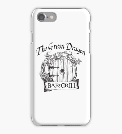The Hobbit Green Dragon Bar & Grill Shirt T-Shirt iPhone Case/Skin