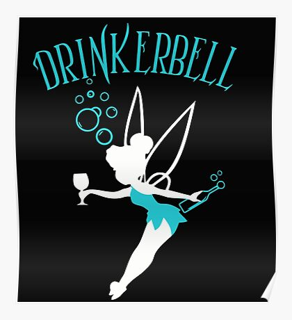 Blue Tinkerbell Poster