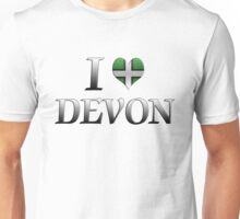 I Love Devon Unisex T-Shirt