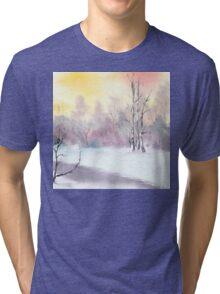Violet Sky Tri-blend T-Shirt