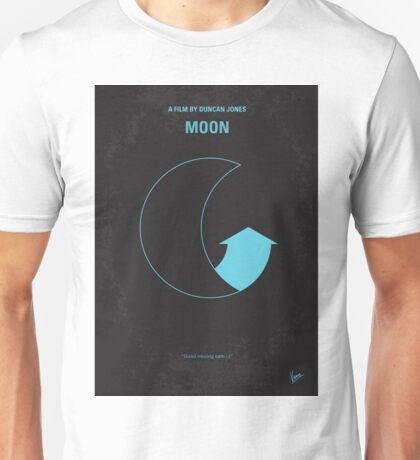 No053 My Moon 2009 minimal movie poster Unisex T-Shirt