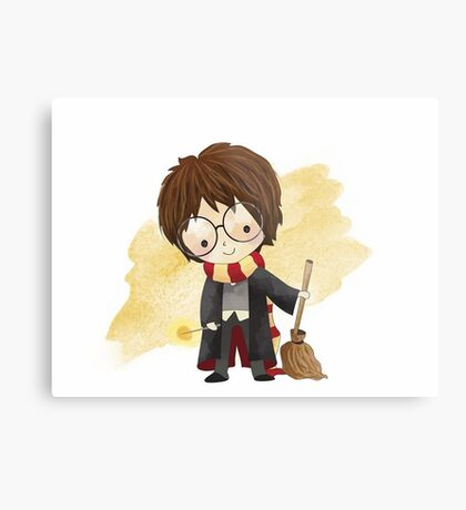 Harry Potter cartoon Metal Print