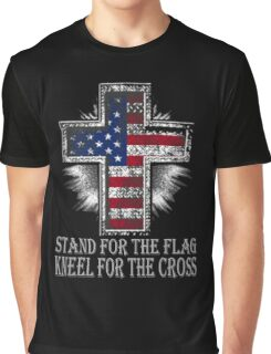 STAND FOR THE FLAG T SHIRT Graphic T-Shirt