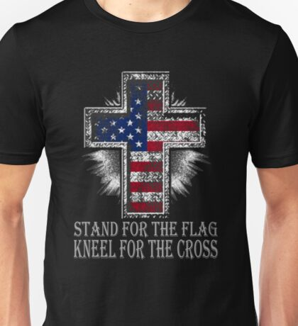 STAND FOR THE FLAG T SHIRT Unisex T-Shirt