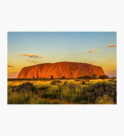 Sunset at the Rock Photographic Print