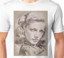 Lauren Bacall, Actress Unisex T-Shirt