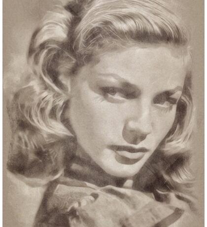 Lauren Bacall, Actress Sticker