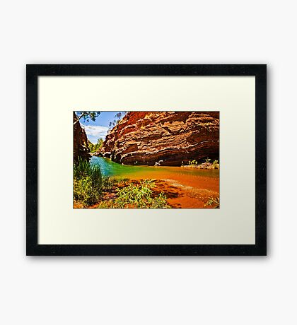 Hamersley Gorge Framed Print