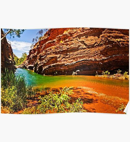 Hamersley Gorge Poster