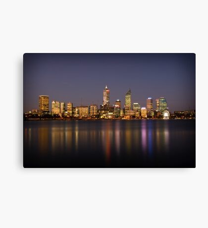 City of Perth Canvas Print