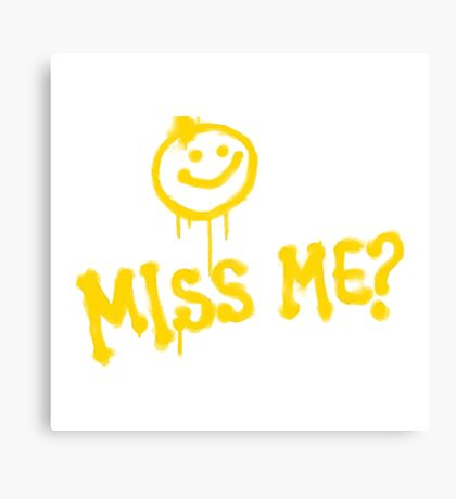 DID YOU MISS ME :) MORIARTY  Canvas Print