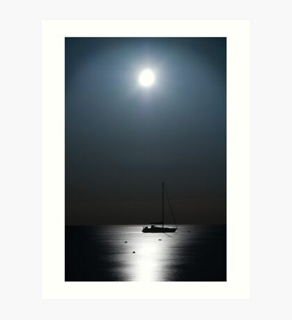 Silver Waters Art Print