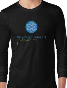 CSS Pun - Big Bang Long Sleeve T-Shirt