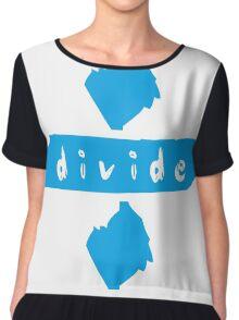 Divide Chiffon Top