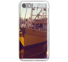 Hobart yellow boat iPhone Case/Skin