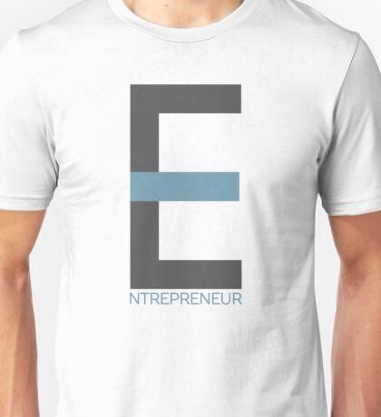 Entrepreneur Business Typography Design Text Unisex T-Shirt